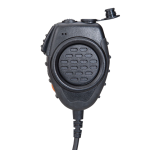 DUAL PTT REMOTE SPEAKER MICROPHONE front