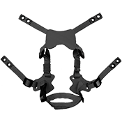 X-HARNESS 4-POINT CHINSTRAP FOR LWH, ACH, PASGT ETC