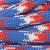Paracord Red, White, Blue