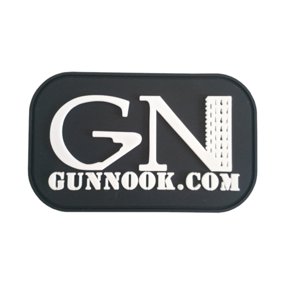 Official GunNook PVC Morale Patch - Sew On